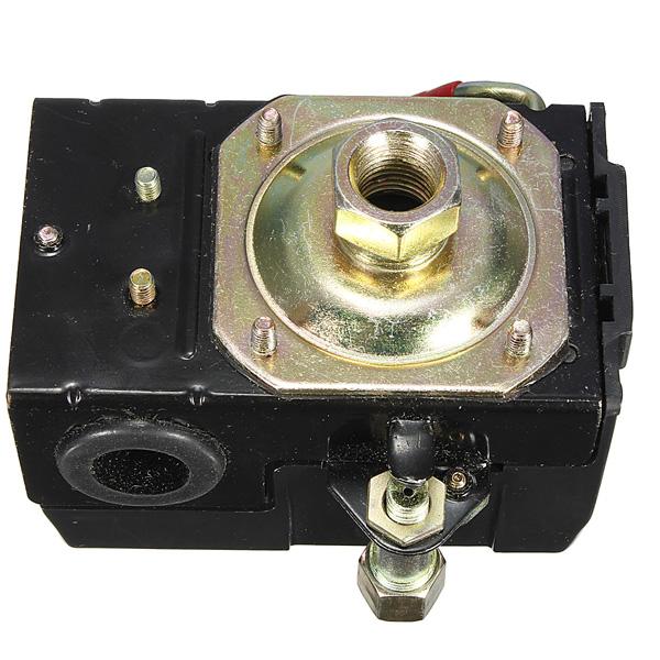 Kompressor Tryckvakt Ventil 95-125 PSI En Port Instrument & Verktyg