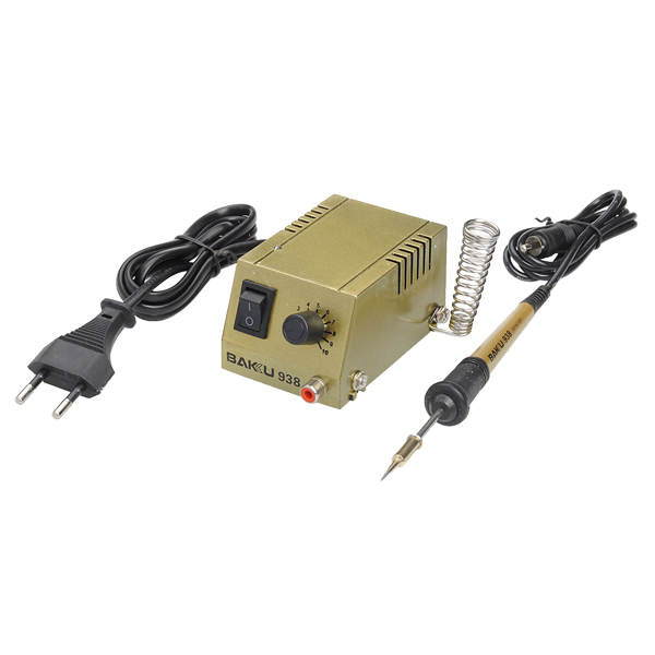 BAKU BK 938 220V EU Mini SMD SMT Rework Schnelle Lötstation stecken Instrumente und Werkzeuge