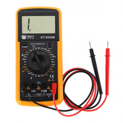 BEST DT9205M LCD AC DC Volt AMP OHM Elektrisk Digital Multimeter