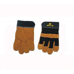 BOSI Soldering Welding Leather Cloth Protection Glove BS470153