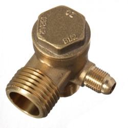 Mässing Hangängade Backventil Verktyg för Luftkompressor