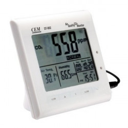 CEM DT-802 0-9999ppm Multifunction Air Quality CO2 Monitor Meter