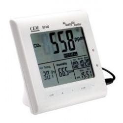 CEM DT-802 0-9999ppm Flerfunktions Luftkvalitet CO2 Bildskärm Meter