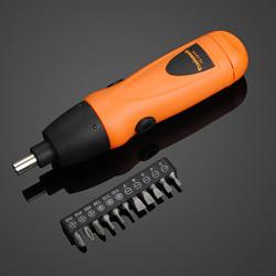 Cordless 6V Electric Screwdriver Drill + 11pcs Screwdriver Bit Set