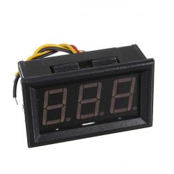 DC 0-100V Blå LED Digital Mini Volt Gauge Spänning Panel Meter