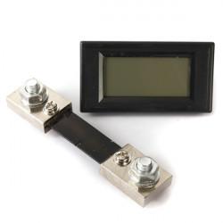 DC 100A digitale LCD Anzeige LED Panel Amperemeter Amp Amperemeter