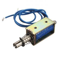 DC 12V 0.4N Push-Pull Open Frame Solenoid Electric Magnet Holding