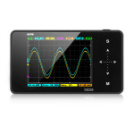 DS202 Nano ARM Handheld TFT LCD Display Touch Key Digital Storage Oscilloscope Professional Instruments & Tools