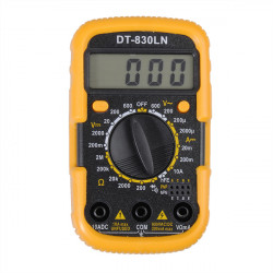 DT-830LN Digital Multimeter AC/DC Ammeter LCD Backlit Display