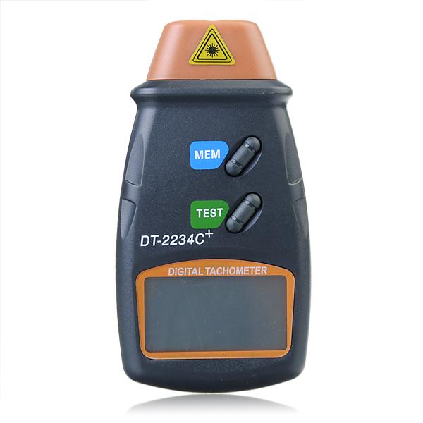 DT2234C + Digital Laser RPM Varvräknare Beröringsfri Mätning Verktyg Instrument & Verktyg