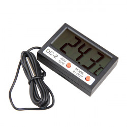 Digital LCD Thermometer Feuchtigkeits Temperatur Messinstrument