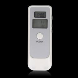 Dual Digital Alkoholutandningsprov Tester Breathalyzer med LCD Klocka