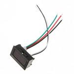 Dubbel Voltmeter Ampermeter LED Panel Displayer DC 0-100V 0-10A Instrument & Verktyg