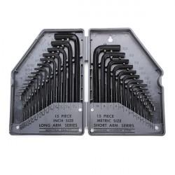 EX 685 30-I-1 Exakt Rapid Stål Inre Hex Key Skiftnyckel Verktygssats
