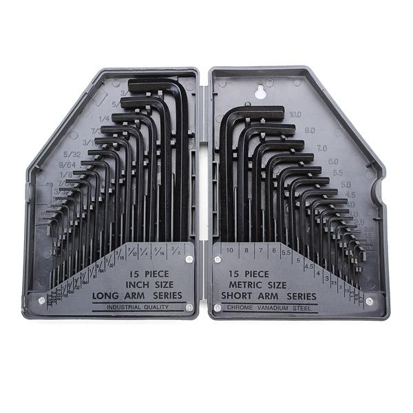 EX 685 30-I-1 Exakt Rapid Stål Inre Hex Key Skiftnyckel Verktygssats Instrument & Verktyg