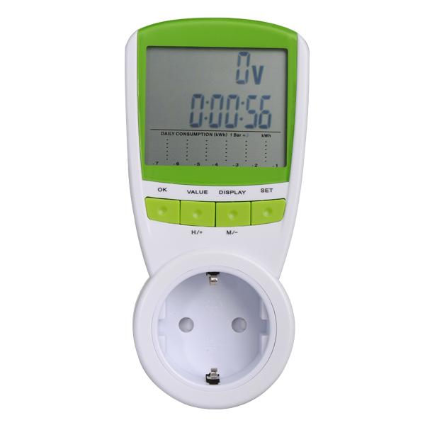 Elektrisk Energy Saving Power Meter Watt Forbrug Monitor Analyzer Instrument & Værktøj