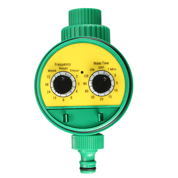 Elektronisk Automatic Water Timer Bevattning Bevattning System Kontroller Instrument & Verktyg