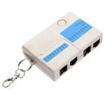 Ethernet 4 Port RJ45 RJ11 Mini Netzwerk LAN Tester mit Schlüsselanhänger Instrumente und Werkzeuge