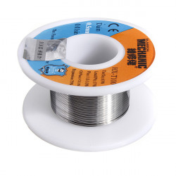 HX-T100 0.5mm 63/37 Tin Lead Rosin Core Solder Soldering Wire Reel