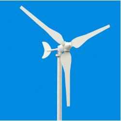 High Efficiency 100W DC12V / 24V 3 Blades Wind Turbine Generator