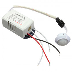 IR Infraröd Modul Body Intelligent Ljus Lampor Motion Sensing Switch