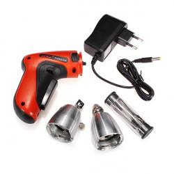 KLOM Cordless Electric Lock Pick Gun Locksmith Tools Lock Pick Set