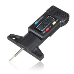 LCD Digital Depth Gauge Däckmönster Brake Shoe Pad Wear 0-25mm / 1 Inch