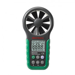 MASTECH MS6252A Digital Anemometer Windgeschwindigkeit Messinstrument mit Bargraph