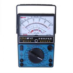 MF 47 Analog Multimeter Voltmeter Amperemeter Ohmmeter Batterietester