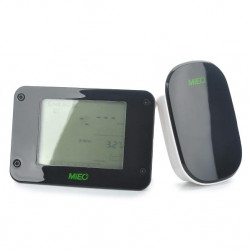 MIEO 3.5 LCD Wireless Home Electricity Energy Monitor HA102