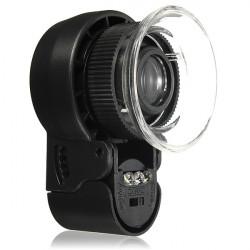 Mini 45X Monocular Magnifying Glass Lens Loupe LED Light Eye Magnifier
