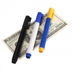 Pengar Checker Falska Sedel Detektor Penna Sedelförfalskning Detektor