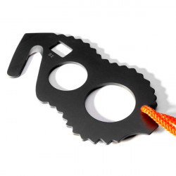 Multi-function Key Chain Screwdriver Knife Wrench Survival Tools Card