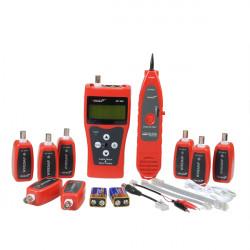 NF 388 Netzwerk Kabeltester LAN RJ45 RJ11 USB Kabel Koaxial Tester