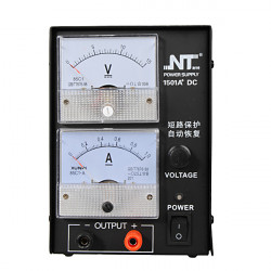 NT1501A+ 15V 1A Adjustable Regulated DC Switching Analog Power Supply