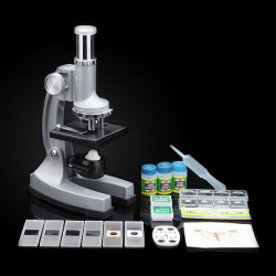 Nostalgisk 100X 400X 900X Educational LED Classic Microscope