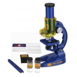Nostalgic 300X 600X 1200X Educational LED Classic Microscope