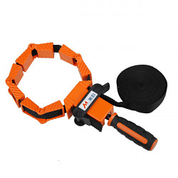 Nylon Multi-Function Binding Belt Clamp Polygons Angle Clip With 4M Long Belt