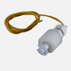 PP flüssiger Wasserspiegel Sensor horizontaler Niveauschalter unten Weiß