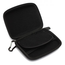 Portable 5inch Hard Shell GPS Carry Case Bag Zipper Cover Pouch
