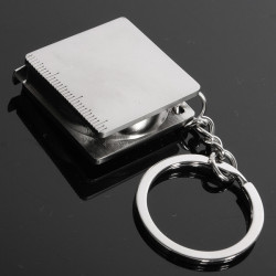 Practical Creative Tape Measure Keychain Key Chain Ring Keyring