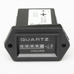 Professional DC12-36V Hour Meter Track Time Gauge Hourmeter