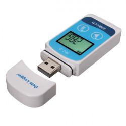 RC-5 Mini USB LCD-skärm Temperatur Datalogger Recorder