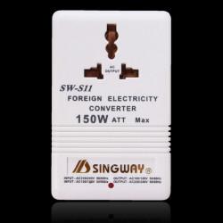 SW-S11 150W 2 Way 240V/110V Step Down/Up Voltage Converter Power Transformer