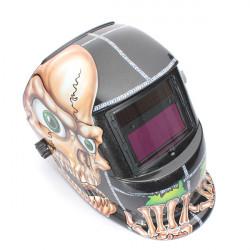 Skull Solar Auto Mörkare Arc Tig MIG-svetsning Slipning Hjälm Svetsare Mask