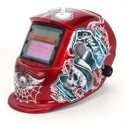Solar Energy Auto Darkening ARC TIG MIG Welding/Grinding Mask Helmet