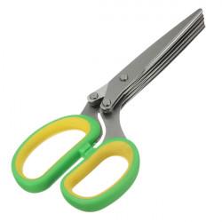 Rustfrit Stål 5 Blade Office Cutter Neddeling Saks Sharp