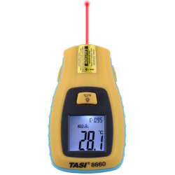 TASI-8660 IR Thermometer Pocket  LCD Electrical Digital Thermometer -50ºC - 330ºC