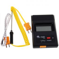 TM 902C Digital LCD K Typ Thermometer Temperaturmessgerät mit Sonden