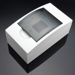 TSM4 4 Way Plastic Indoor Electrical Distribution Boxes Enclosure